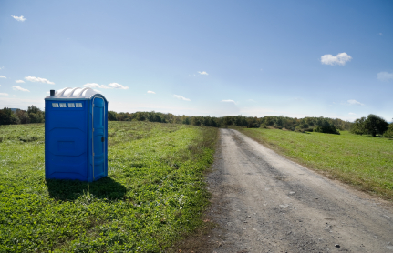 Roadside toilet